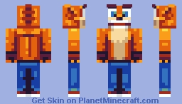 Crash Bandicoot Minecraft