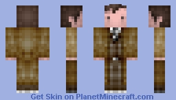 1Oth / Doctor Who, David Tennant, 2005-2010 Minecraft Skin