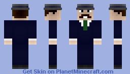 Guy in suit w/ a mustache