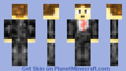 Guy in Tuxedo (My First Skin!)