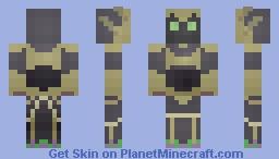 Hades Minecraft Skin