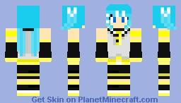 Hatsune Miku [Rin-Chan-Now] Minecraft Skin
