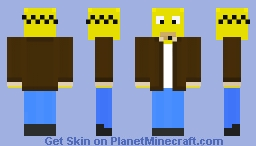 Homer Simpson - With Jacket - Minecraft Skin