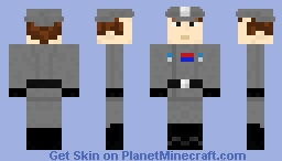Imperial Navy Officer - Star Wars Minecraft Skin