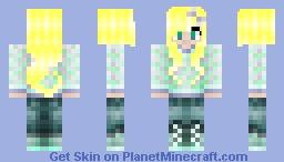 -KaylaCatPURRccino- My new personal Skin (Me) Minecraft Skin