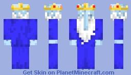 Ice King Minecraft Skin