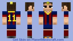 Best Neymar Minecraft Skins Planet Minecraft - Skin para minecraft pe de neymar