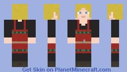 Norse Woman Blonde Minecraft Skin