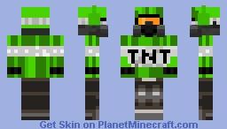 green TNT man