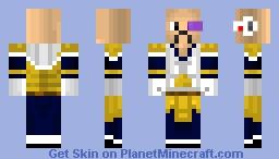 Nappa Minecraft Skin