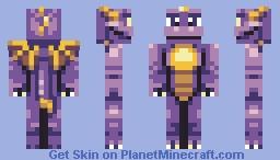 Spyro Minecraft Skin