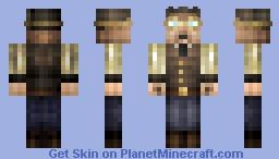Steampunk Airship Pilot Minecraft Skin