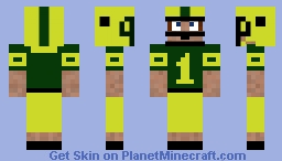 Green Bay Packers Minecraft Skin