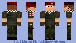Field Medic First attempt Minecraft Skin