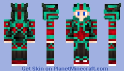 Poison dragon armor!!! Minecraft Skin