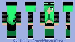 Enderman Girl (Green!)
