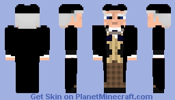 First Doctor- William Hartnell-  Doctor Who Skin Series Minecraft Skin