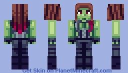 Gamora Minecraft Skin