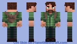 Joel the last of us Minecraft