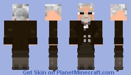 The War Doctor- Doctor Who Skin Series Minecraft Skin