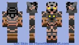 Runescape Malevolent Armor Minecraft Skin