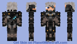 Raiden (Metal Gear: Rising Revengeance) Minecraft
