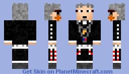 Shiro Fujimoto (Blue Exorcist) Minecraft Skin