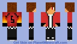 5 Red Minecraft Skin