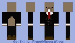 PresidentBeaver Minecraft Skin