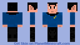 Spock for Leeanne's Skin Contest Minecraft Skin