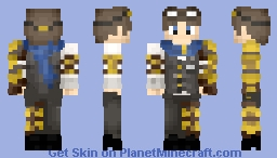 Steampunk Adventurer Minecraft Skin