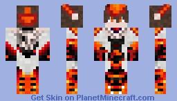 Kai Toshiki ReversedLeShadowKaiser Minecraft Skin - Skins para minecraft pe tsuna
