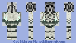 Cyberman Minecraft Skin