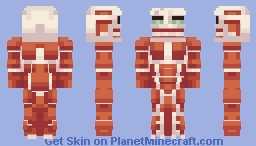 [AoT] Colossal Titan Minecraft Skin
