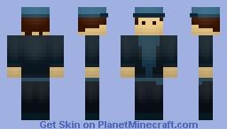 ★Simple BLUE Minecraft Skin