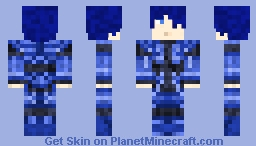 RP Character (Male - Blue Themed)
