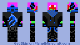 Kuledud3 with clothes. Minecraft Skin