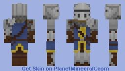 Dark Souls: Elite knight 1.8 version Minecraft Skin