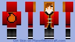 Fire Mage {Male} Minecraft Skin