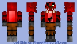 FNAF - Foxy Minecraft Skin