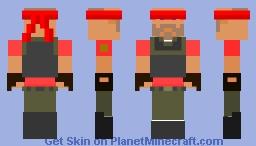 The Blindfolded Heavy Minecraft Skin