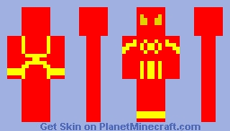 iron spider Minecraft Skin