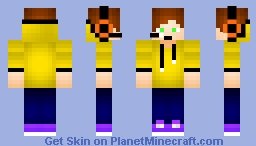 Remake for the old Pro gamer skin (HuskkieDoo) Minecraft Skin