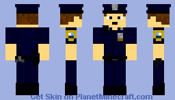 NYPD Officer Minecraft Skin