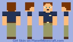 Steve Haines Minecraft Skin