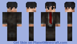 The Worn Out Buisness Man Minecraft Skin
