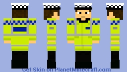 Police Constable (Roads Policing Unit) Minecraft Skin