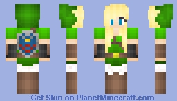 Link girl (yay first skin and sry if it doesnt look so cool again this is my first skin)