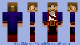 Bobby The Pirate Minecraft Skin