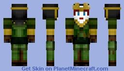 Avatar Kyoshi Minecraft Skin
